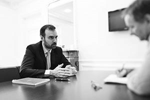 Première rencontre avec Laurent Probst, DG du Stif